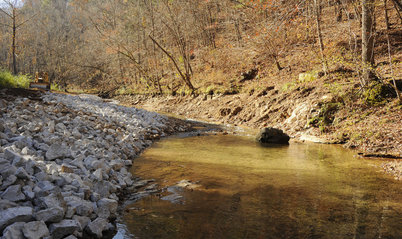 Restoration of Turkey Creek Underway