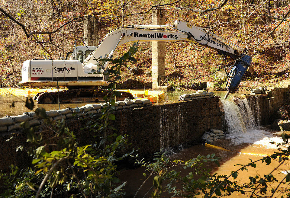 Dam Removal on Turkey Creek Will Help Vermilion Darter Habitat